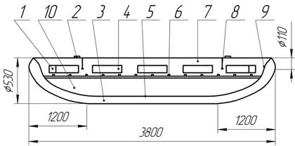 Катамаран Urex Спорт-2 двухместный